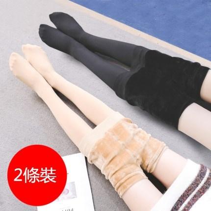 打底襪褲加絨加厚絲襪女春秋冬款光腿保暖神器壓力瘦腿連褲襪