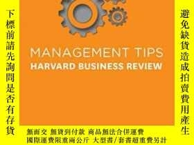二手書博民逛書店Management罕見TipsY364682 Harvard Business Review Perseus