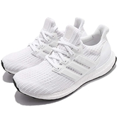 adidas 慢跑鞋 UltraBOOST W 白 全白 運動鞋 頂級緩震 運動鞋 女鞋【ACS】 BB6308