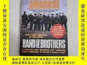 二手書博民逛書店Band罕見of Brothers:E Company, 506th Regiment, 101st Airbor
