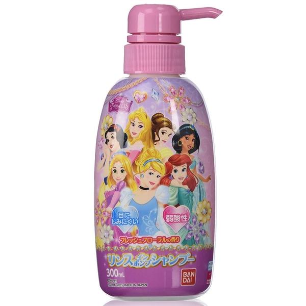 日本製萬代BANDAI兒童洗髮精 溫和低刺激 弱酸性 幼童 小朋友適用 公主 迪士尼 米老鼠 哆啦A夢