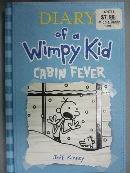 【書寶二手書T5/少年童書_FVS】Cabin Fever_Kinney, Jeff