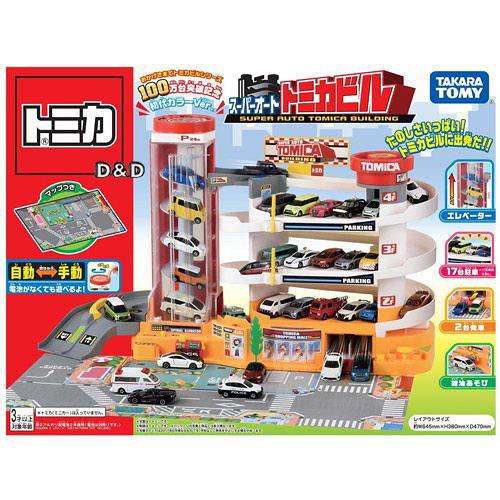 【TOMICA】自動停車塔 - 百萬銷售紀念版 (TW98192)