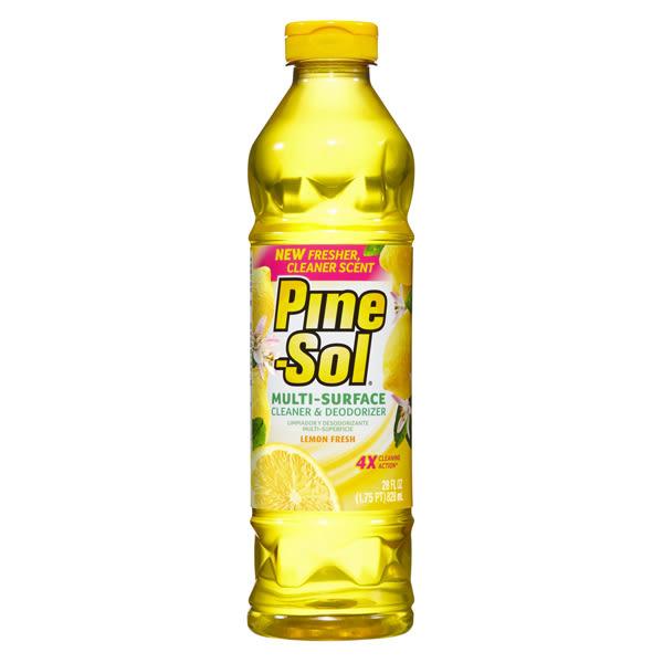 美國 Pine-Sol清潔劑-(檸檬) (28oz/828ml)