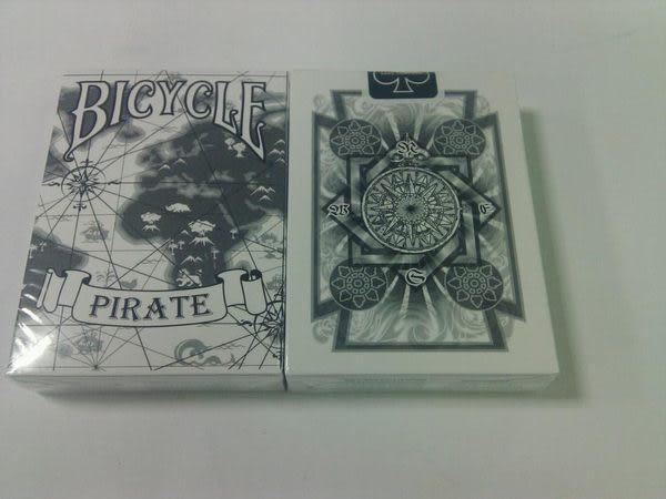 【USPCC撲克館】撲克牌BICYCLE Pirate 海盜 白色