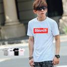 T恤 爆裂紋Staunch文字短T【N9...