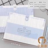 多層A4文件夾風琴包資料冊試卷夾文件試卷收納袋【宅貓醬】