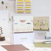 2個裝 便簽紙奶茶鋪子盒裝創意無粘性素材紙便條紙【英賽德3C數碼館】