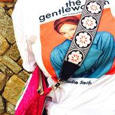 民族風寬肩帶女包背帶DIY配飾波西米亞編織刺繡單肩斜背包/側背包帶【紅人衣櫥】