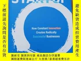 二手書博民逛書店the罕見lean startupY42402 Eric rie