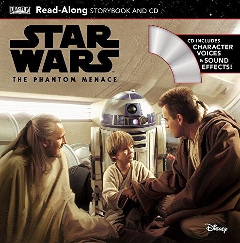 【麥克書店】STAR WARS PHANTOM MENACE (星際大戰首部曲:威脅潛伏) /英文繪本附CD ‧聽迪士尼說故事