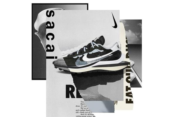 IMPACT Sacai x Nike Vaporwaffle 白紅 黑白 CV1363-100 CV1363-001