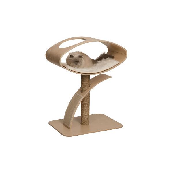 寵物家族-HAGEN 赫根Vesper 貓用實木精品家具 跳台-觀景臥榻