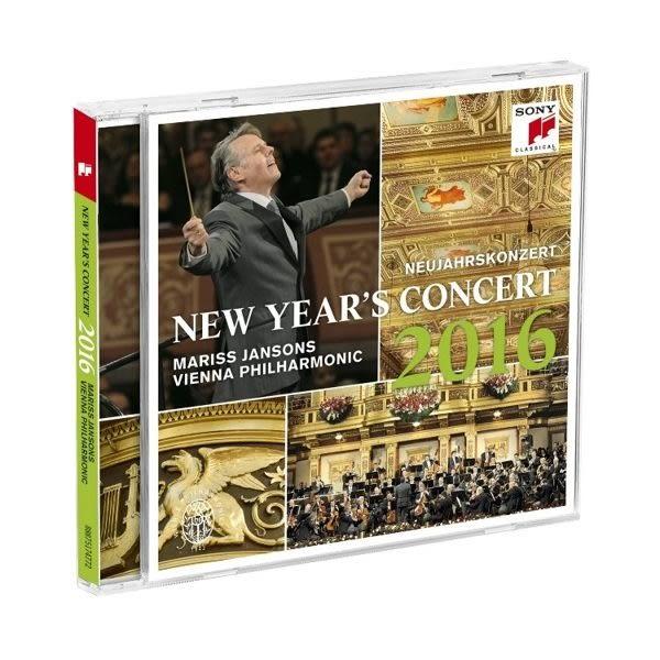 2016維也納新年音樂會 馬里斯 楊頌斯 維也納愛樂 CD (購潮8) 888751747722