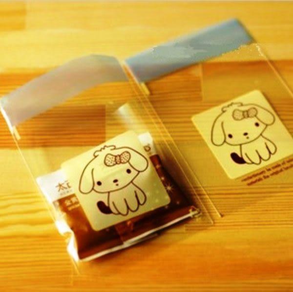 餅干包裝袋  小狗狗 20枚一包售 自黏包裝袋 想購了超級小物
