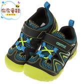 《布布童鞋》Moonstar日本綠色透氣兒童機能護趾運動鞋(15~19公分) [ I8L037C ]