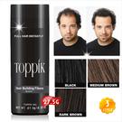 【只要30秒!! 立即增髮!!】美國知名品牌(Toppik)纖維附著式假髮(2.5個月/27.5g) [49419]