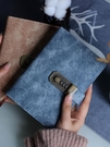 記事本 密碼鎖復古密碼本女帶鎖日記本簡約文藝成人學生古風男加厚手賬本