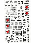 薇嘉雅  紋身貼紙 HM948