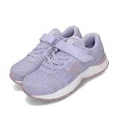 New Balance 慢跑鞋 YA680CS W Wide 紫 粉紅 童鞋 魔鬼氈 寬楦 【PUMP306】 YA680CSW