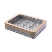 質感花崗木緣肥皂盤