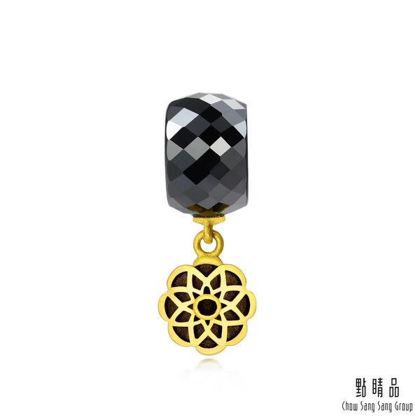 點睛品 Charm文化祝福 陶瓷曼陀羅 黃金串珠