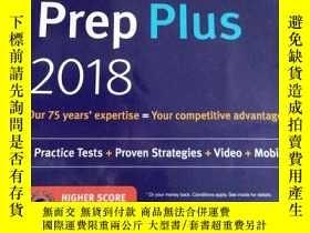 二手書博民逛書店GMAT罕見Prep Plus 2018: 6 Practice