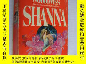 二手書博民逛書店Shanna:The罕見Blazing novel of ete