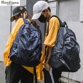 紓困振興 超火的書包旅行包雙肩包男牛津布高中大學生容量電腦包背包 扣子小鋪