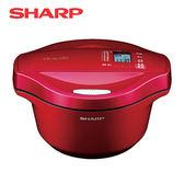 [SHARP 夏普]2.4L 0水鍋-蕃茄紅 KN-H24TB