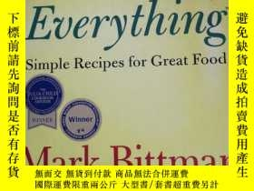 二手書博民逛書店How罕見To Cook EverythingY227550 Mark Bittman John Wiley