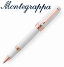 義大利Montegrappa萬特佳 財富系列 - 鋼珠筆 (白-金夾) ISFORRRH / 支