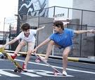 兒童滑板車 四輪滑板初學者兒童小男孩女生6-12歲以上劃板發光專業滑板車TW【快速出貨八折鉅惠】