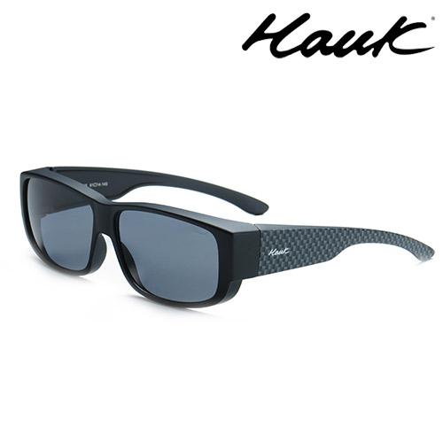 HAWK偏光太陽套鏡(眼鏡族專用)HK1003-46