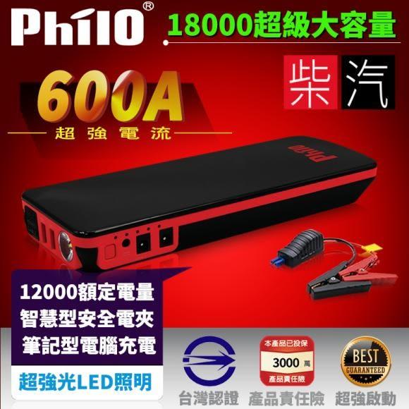 飛樂Philo EBC-901汽柴油終極版 應急啟動電源