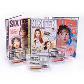 韓國16Brand 迷你雜誌雙色眼影盤 2.5g (大地雙色/夢幻春櫻/金莎花系)