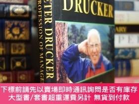 二手書博民逛書店現代管理學之父罕見彼得·德魯克 Peter Drucker on the Profession of Manage