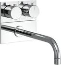 【麗室衛浴】德國原裝 BORMA  S7601D 壁式三孔龍頭  鉻色(門市樣品出清價)
