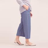 【中大尺碼】MIT牛仔流行寬褲