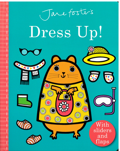 【麥克書店】DRESS UP!/硬頁翻翻操作書《主題: 天氣.衣服》