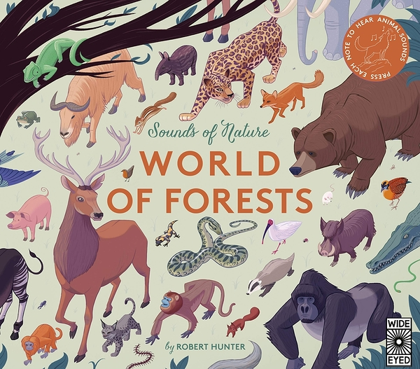Sounds Of Nature:World Of Forests 大自然聲音:森林篇音效書