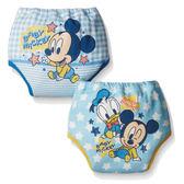 日本 迪士尼 Disney 米奇四層學習褲/尿布褲(2件組)(80cm/90cm/95cm)[衛立兒生活館]