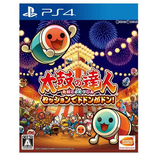 〈PS4 遊戲〉太鼓之達人合奏咚咚咚!亞中版