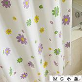 浴簾 高檔加厚浴簾套裝防霉防水浴簾