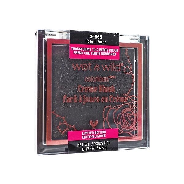 Wet N Wild 叛逆玫瑰唇頰霜(玫瑰緋紅)4.8g【小三美日】
