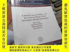 二手書博民逛書店a罕見power law of order 1/4 for cr