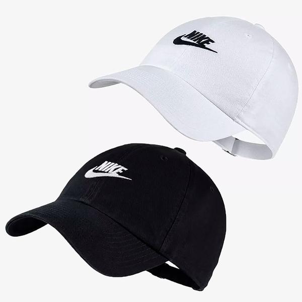 【現貨】NIKE HERITAGE 86 CAP 帽子 老帽 休閒 刺繡LOGO 黑/白【運動世界】913011-010 / 913011-100