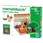 《 Nano Block PLUS 》【 神奇寶貝系列 】PP-003 小火狐的時尚咖啡廳╭★ JOYBUS玩具百貨