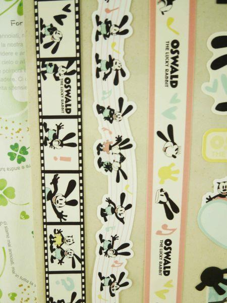 【震撼精品百貨】Micky Mouse_米奇/米妮 ~貼紙-綜合粉