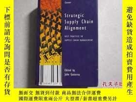 二手書博民逛書店Strategic罕見Supply Chain Alignmen